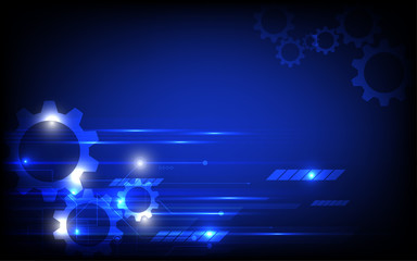 Abstract technology background hi speed communication concept