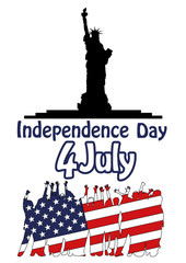 indipendence day 4 th july