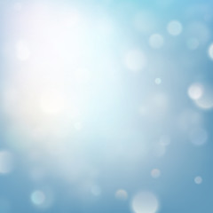 Shimmering blur background with shining lights. EPS 10 vector