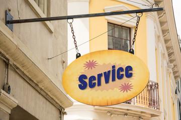 Schild 278 - Service