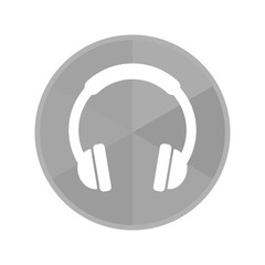 Kreis Icon - Kopfhörer
