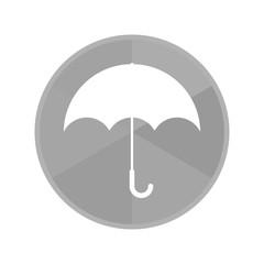 Kreis Icon - Regenschirm