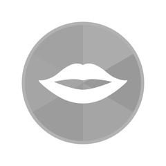 Kreis Icon - Lippen