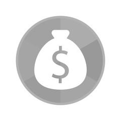 Kreis Icon - Dollarsack