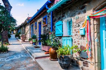 Promenade dans les rues de Collioure