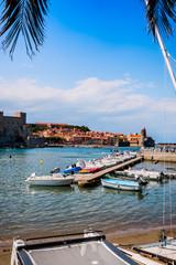 Port de Collioure la perle de la côte vermeille