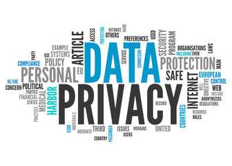 Word Cloud Data Privacy