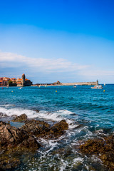 Ansa de la Baleta à Collioure la perle de la côte vermeille
