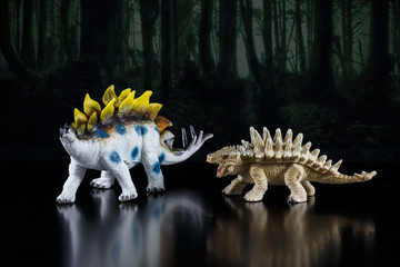 Toy models of dinosaurs