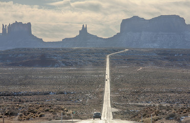 Forest Gump Point, one of the coolest scenes takes place close to Monument Valley in Utah near the Arizona border. It is the scene where Forrest finally stops after running everyday for a few years.