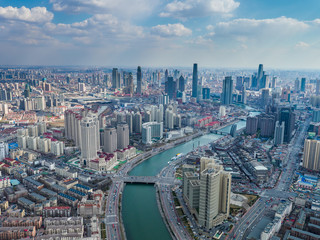 Lujiazui has been developed specifically as a new financial district.