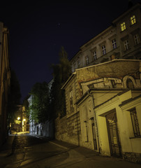 Wall Mural - ulica nocą