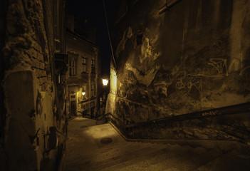 Wall Mural - zaczarowana ulica 2