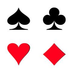 Card game symbol