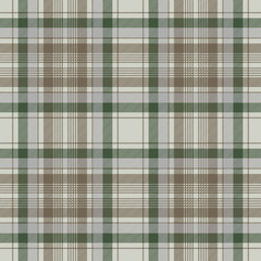 Traditional check plaid seamless pattern