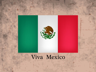 illustration of elements of Mexico Independence Day Background