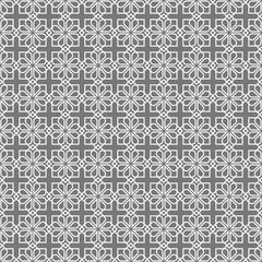 Delicate ornamental seamless vintage pattern arabic style