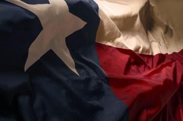 Aluminium Prints Texas The Texas flag