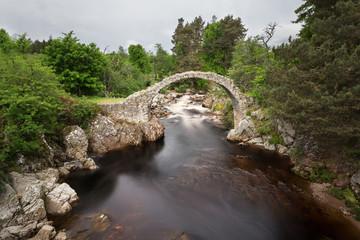 The Old Packhorse Bridge, Carrbridge by Aviemore, Scotland