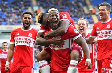 Championship - Bolton Wanderers vs Middlesbrough