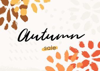 Abstract Autumn Design