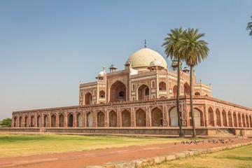 Autocollant pour porte Delhi Humayun tomb in Delhi India