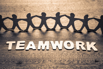 Teamwork and Human Chain