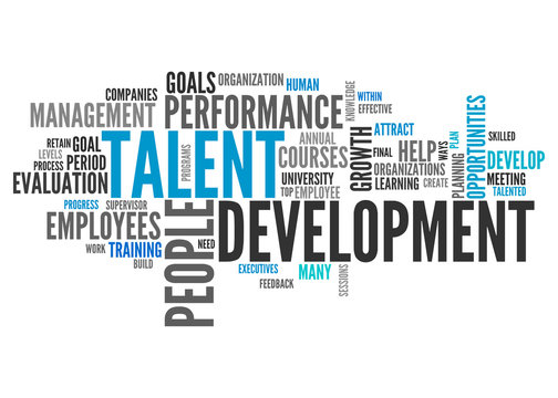 Word Cloud Talent Development