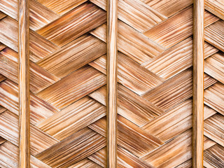 Background with wooden Japanese lattice work