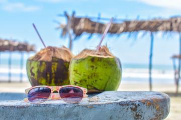 Coconuts in Cancun