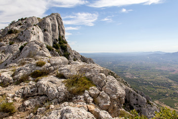 The mountain Sainte-Victoire, in Provence