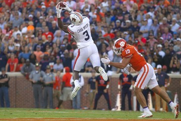 NCAA Football: Auburn at Clemson