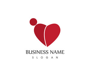 Health People Heart Logo