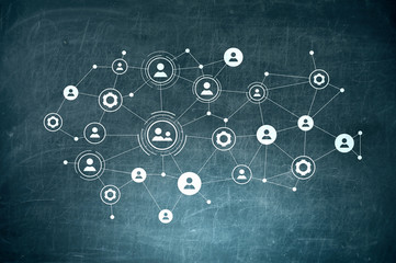 Global network as means for communication