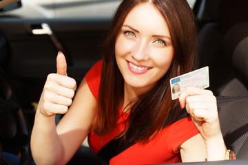bestandende Prüfung Fahrerlaubnis