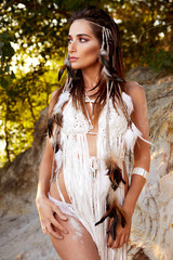 Sexy Native American Woman Amazonian
