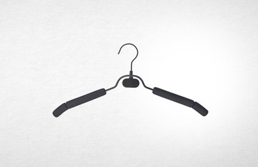 hanger on a background.