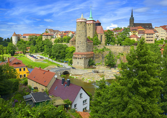 Historic old town of Bautzen (Saxony, Germany)