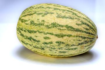 melon on a light background