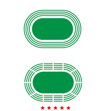 Stadium it is icon .