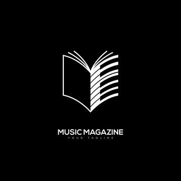 Music magazine logo
