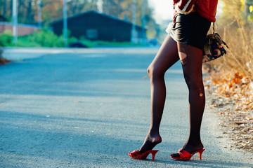 Roadside prostitute