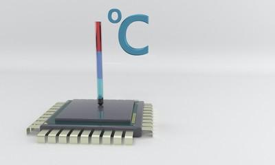 Processor temperature, 3d