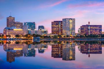 Cambridge Massachusetts USA cityscape.