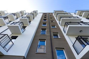 modernes Hochhaus