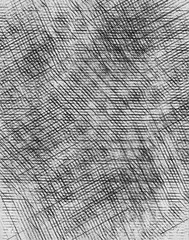 Abstract dark print texture background with crosshatching marks