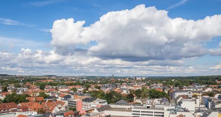 Panorama von Polbitz in Zwickau