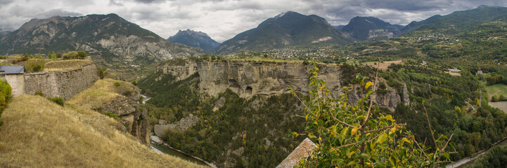 the Southern Alps, seen from the citadel of Mont-Dauphin