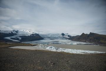 Fjallsarlon Glacial Lagoon - Vatnajökull Glacier