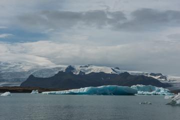 Icebergs in Jokulsarlon - Glacial Lagoon